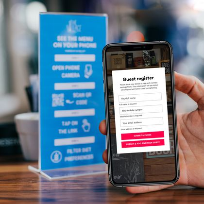 contactless ordering, Best QR Menu for Restaurants and Hotels To Promote Contactless Ordering