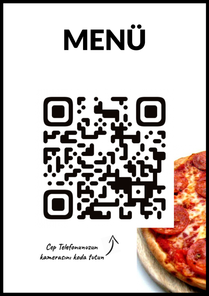 QR Code for Turkish Menu