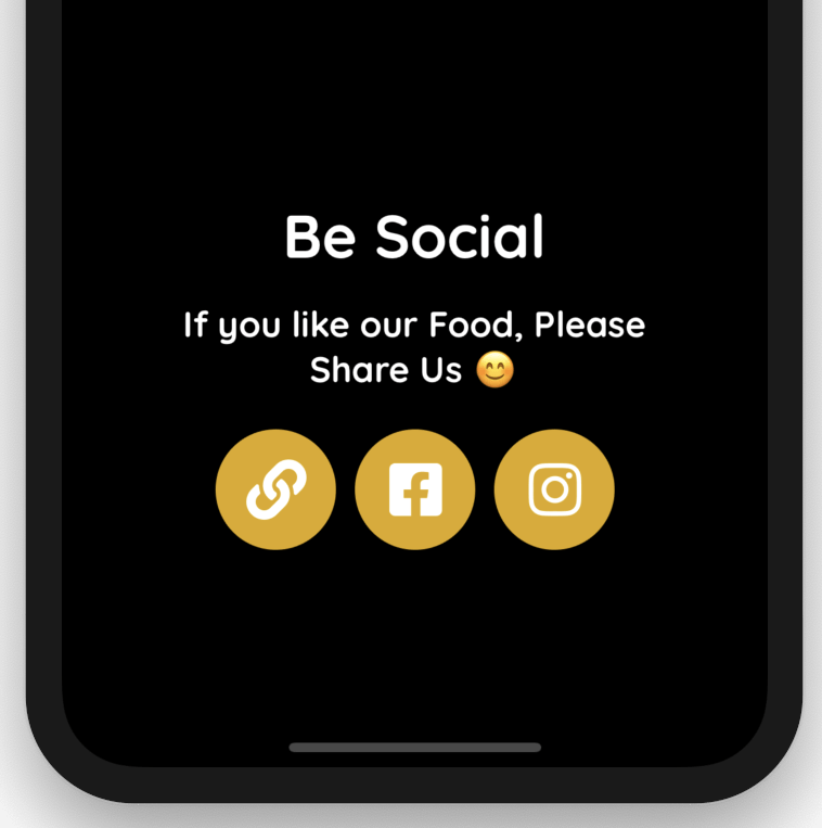 Connecting Your QR Menu to Social Media; Take Orders On Fb & Insta