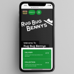 Rug Bug Bennys Contactless Commission-Free Delivery Menu Managed On Orderlina - In-House Commission-Free Delivery
